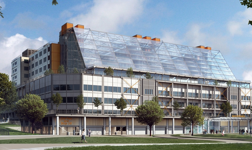 Carillion preferred bidder for Midlands hospital featuring designs by Grant Associates