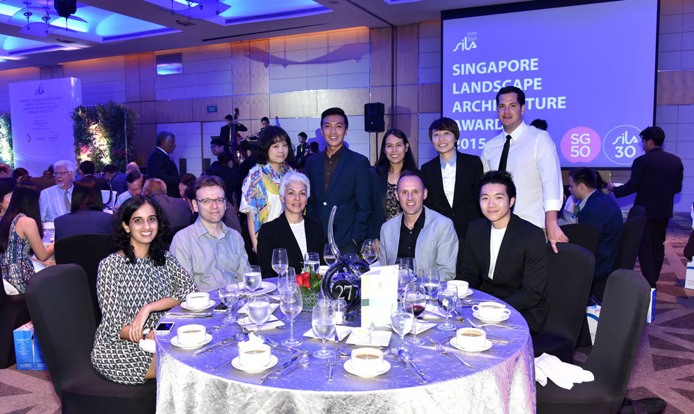 Grant Associates scoops gold at Singapore Institute of Landscape Architects Awards