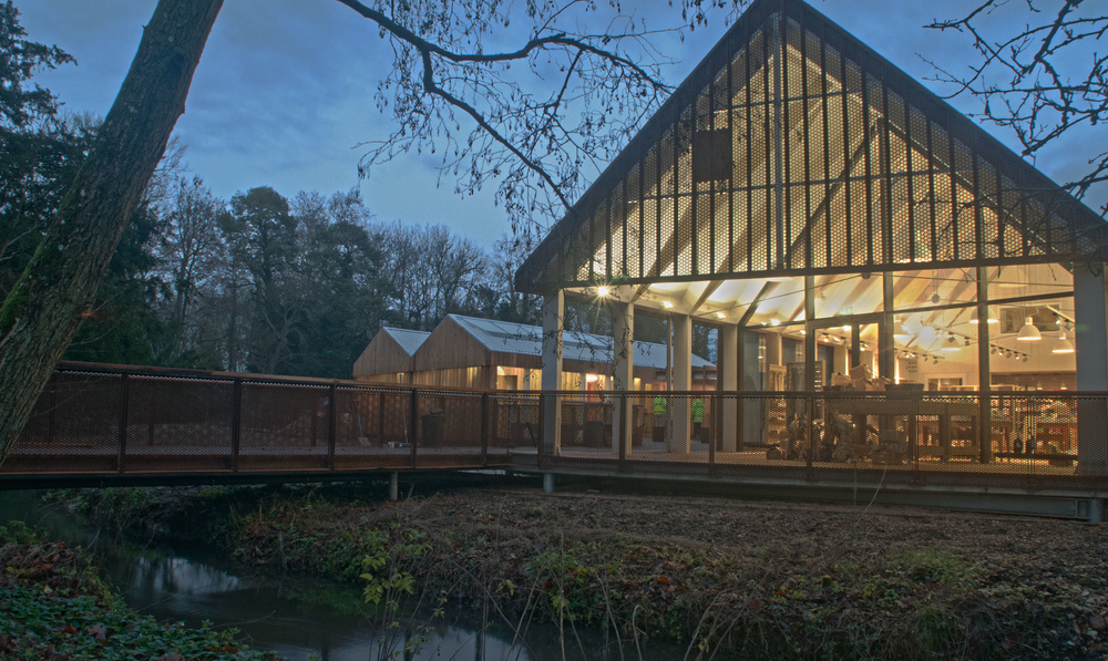 Mottisfont opens new Welcome Centre featuring designs by Grant Associates