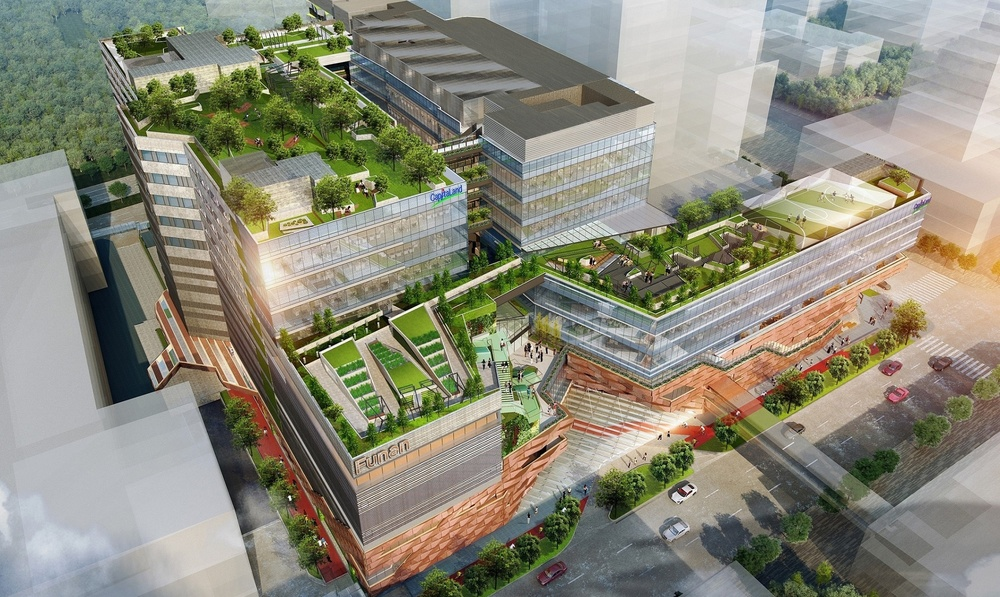 Singapore's new Funan complex to feature designs by Grant Associates