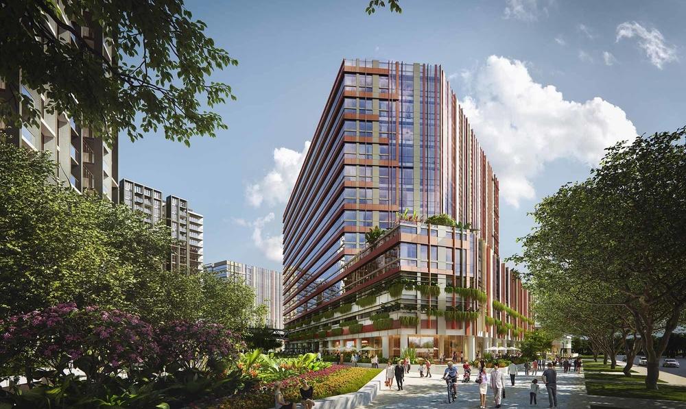 Green light for Singapore's Paya Lebar Quarter featuring landscape  design by Grant Associates