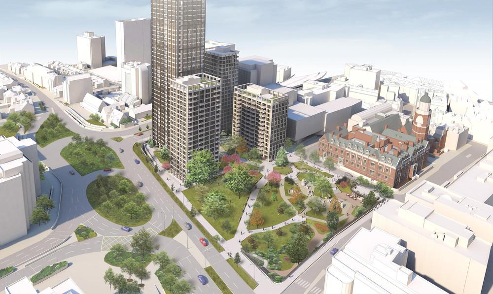 Regeneration plan for Croydon Council's former HQ revealed