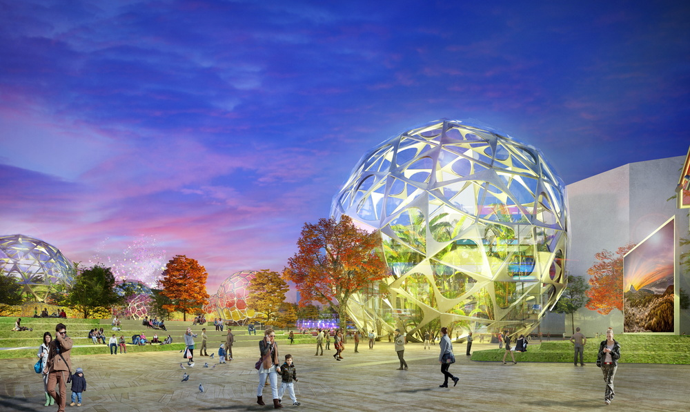 Grant Associates' masterplan for new district in Madrid wins outline planning