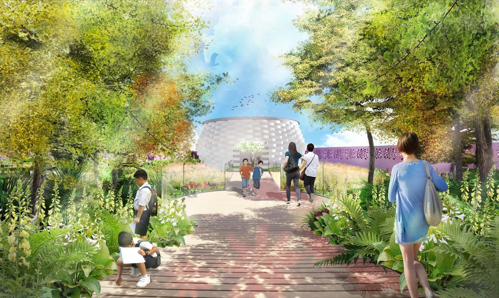 Grant Associates designs garden for 2019 Beijing International Horticultural Expo