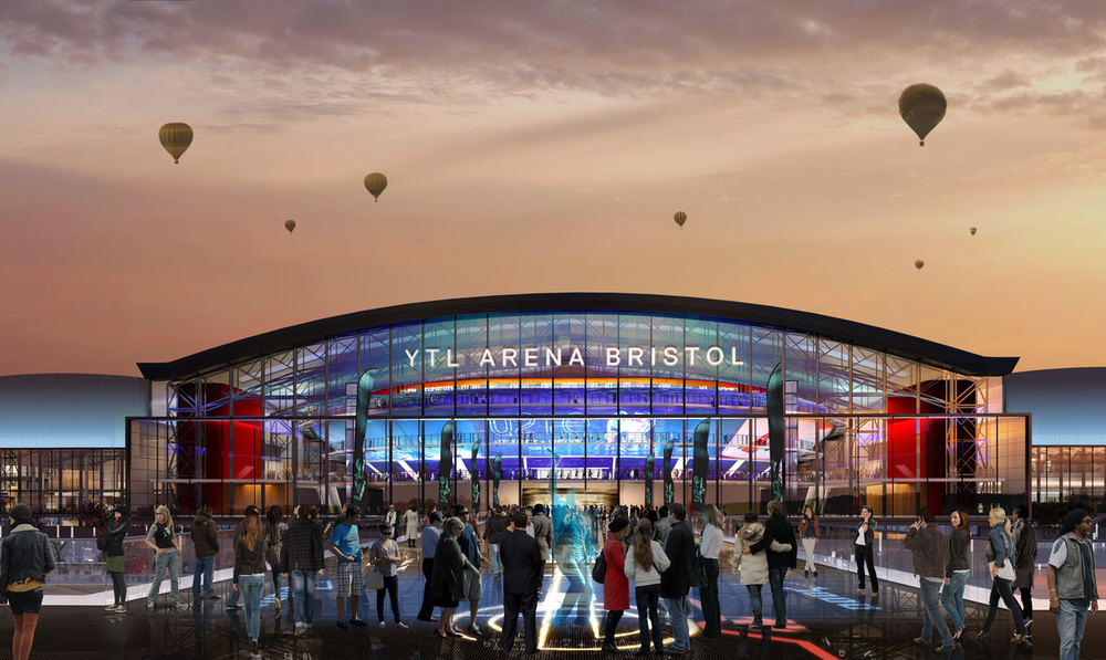 Grant Associates on design team for proposed YTL Arena in Bristol