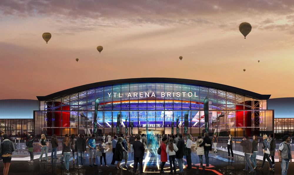 Grant Associates on design team for proposed YTL Arena in Bristol