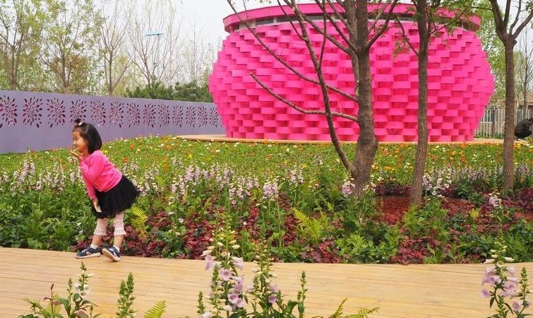 Grant Associates 'Rewilding Garden' opens to public in Beijing
