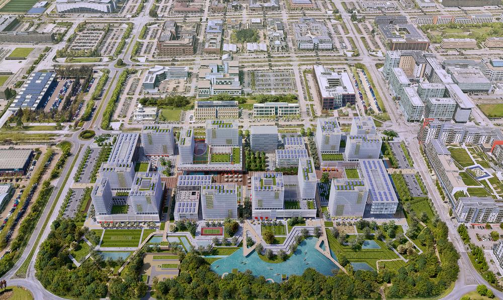 Shortlisted masterplans for MK:U International Design Competition revealed
