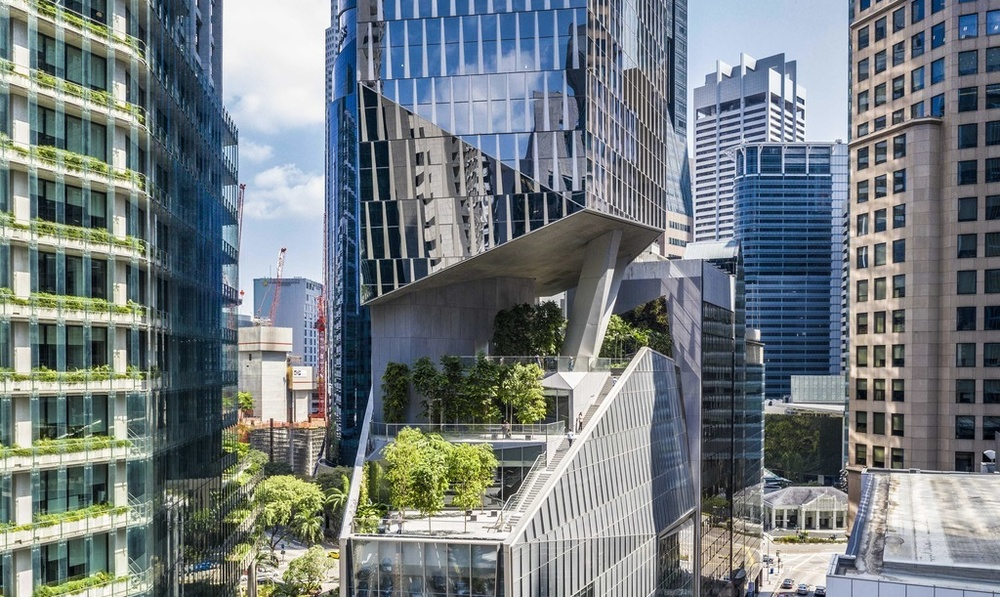 Grant Associates scoops landscape architecture award for Robinson Tower