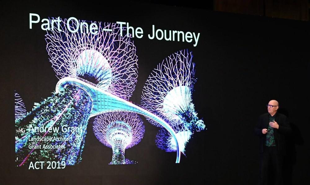 Grant Associates presents at international architecture forum in Bangkok