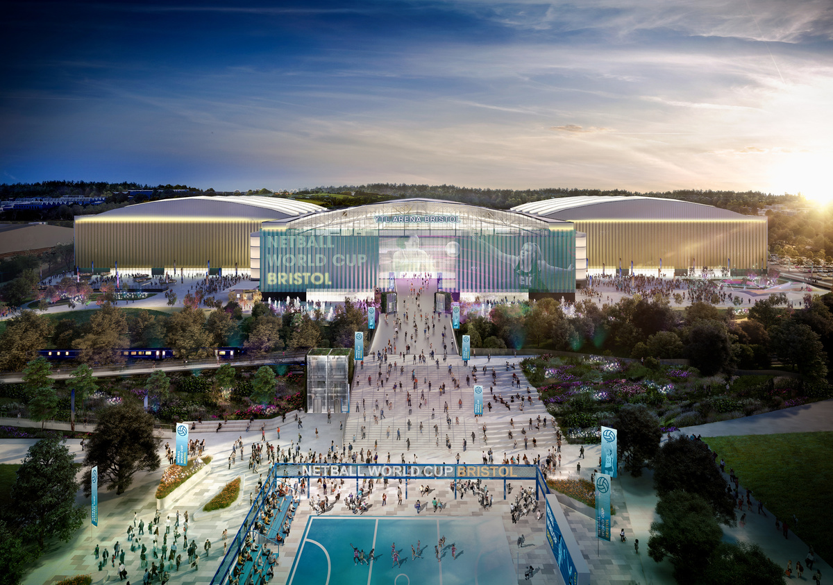 Grant Associates designs landscape strategy for UK's third largest arena complex
