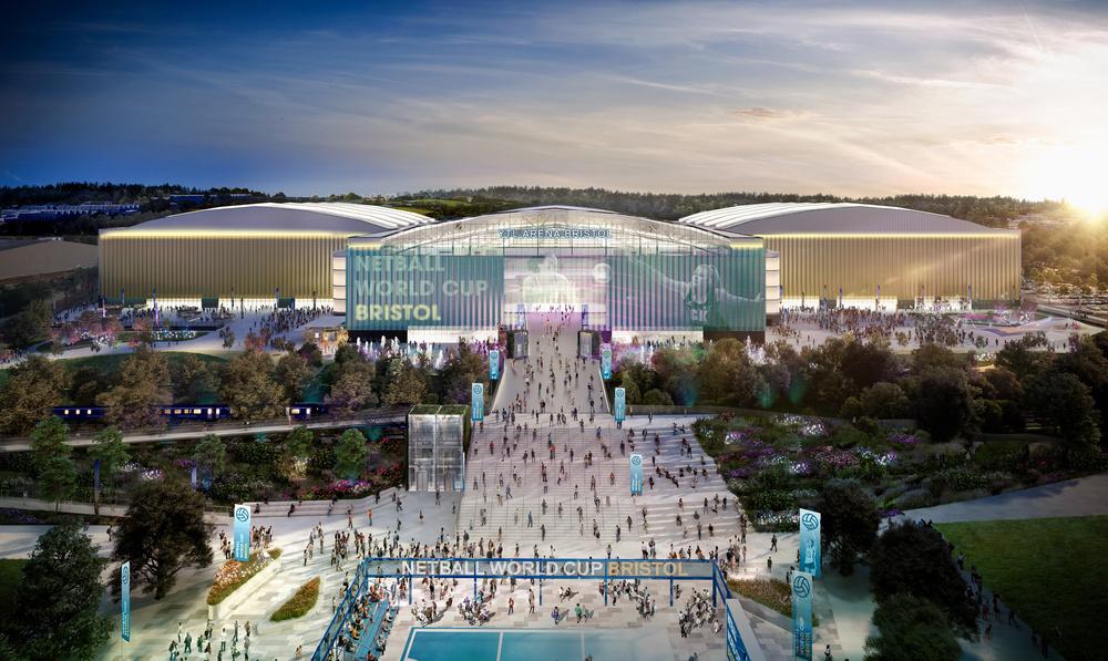 Grant Associates designs landscape strategy for UK's third largest arena complex
